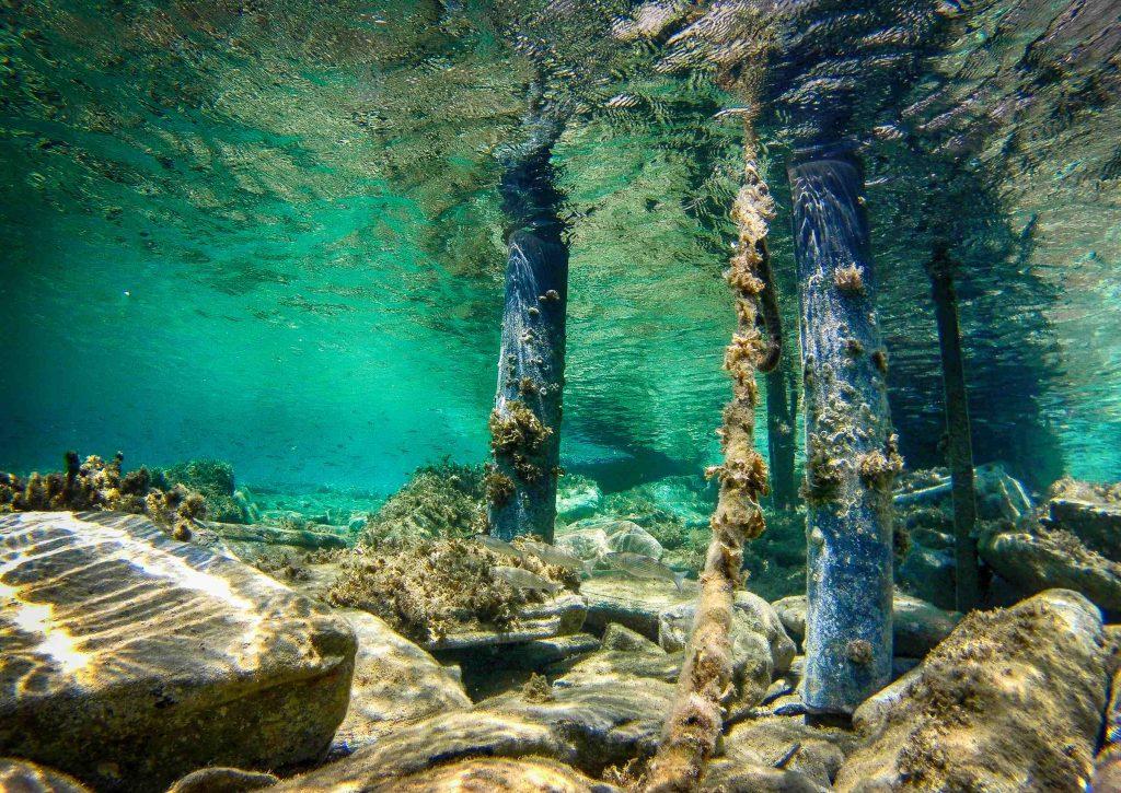 samos onder water